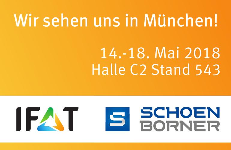 Schönborner Armaturen GmbH IFAT München 2018